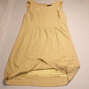 Mustard Yellow Tahari dress